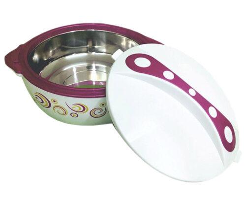 Θερμός φαγητού μοβ pavonia 8 lt εκόνα 2