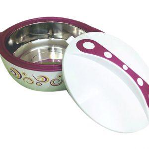 Θερμός φαγητού μοβ pavonia 5 lt εκόνα 2