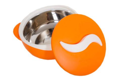 θερμός φαγητού Parisa matt orange